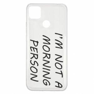 Etui na Xiaomi Redmi 9c I'm not a morning person