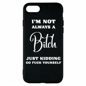 Etui na iPhone 7 I'm not always a bitch