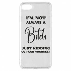 Etui na iPhone 8 I'm not always a bitch
