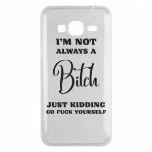 Etui na Samsung J3 2016 I'm not always a bitch