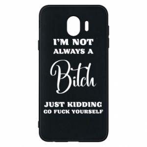 Etui na Samsung J4 I'm not always a bitch