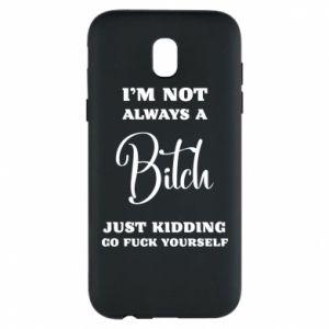 Etui na Samsung J5 2017 I'm not always a bitch
