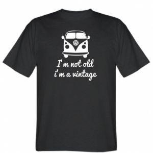 Koszulka I'm not old i'm a vintage