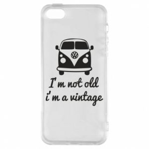 Etui na iPhone 5/5S/SE I'm not old i'm a vintage