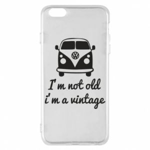 Etui na iPhone 6 Plus/6S Plus I'm not old i'm a vintage