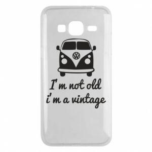 Etui na Samsung J3 2016 I'm not old i'm a vintage