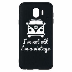 Etui na Samsung J4 I'm not old i'm a vintage