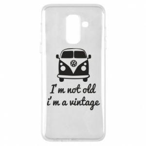 Etui na Samsung A6+ 2018 I'm not old i'm a vintage