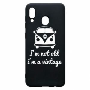 Etui na Samsung A30 I'm not old i'm a vintage