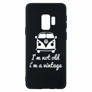 Etui na Samsung S9 I'm not old i'm a vintage