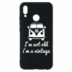 Etui na Huawei P20 Lite I'm not old i'm a vintage