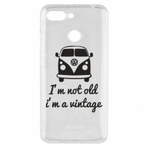 Etui na Xiaomi Redmi 6 I'm not old i'm a vintage