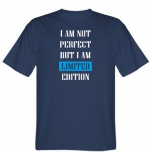 T-shirt I'm not perfect but i am limited edition