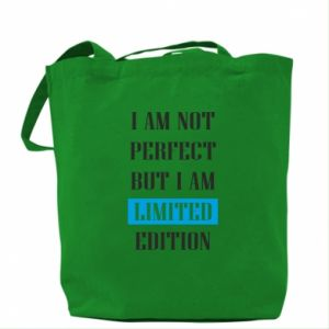 Bag I'm not perfect but i am limited edition