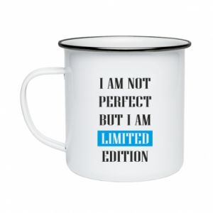 Enameled mug I'm not perfect but i am limited edition