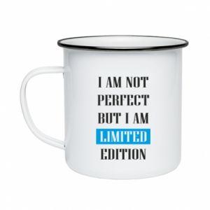 Enameled mug I'm not perfect but i am limited edition