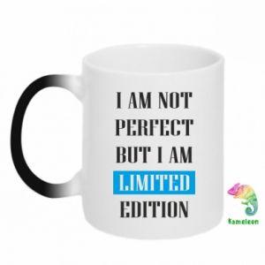 Kubek-kameleon I'm not perfect but i am limited edition