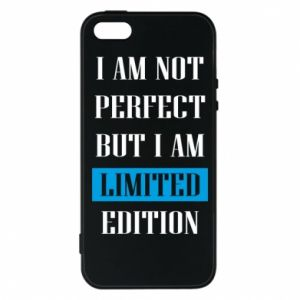 Etui na iPhone 5/5S/SE I'm not perfect but i am limited edition