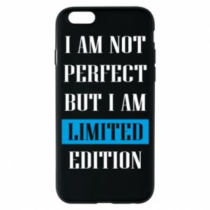 Phone case for iPhone 6/6S I'm not perfect but i am limited edition
