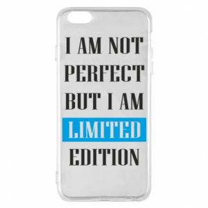 Etui na iPhone 6 Plus/6S Plus I'm not perfect but i am limited edition