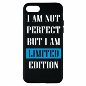 Etui na iPhone 7 I'm not perfect but i am limited edition