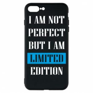 Etui na iPhone 7 Plus I'm not perfect but i am limited edition