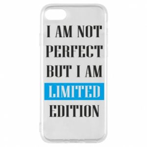 Etui na iPhone 8 I'm not perfect but i am limited edition