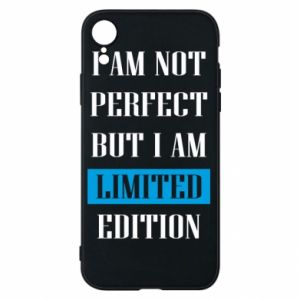 Phone case for iPhone XR I'm not perfect but i am limited edition