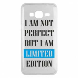 Etui na Samsung J3 2016 I'm not perfect but i am limited edition