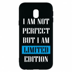 Etui na Samsung J3 2017 I'm not perfect but i am limited edition