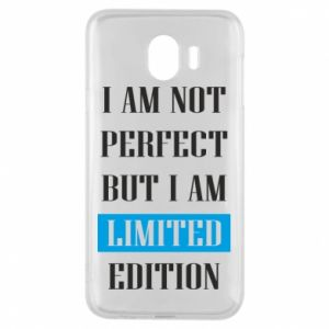 Etui na Samsung J4 I'm not perfect but i am limited edition