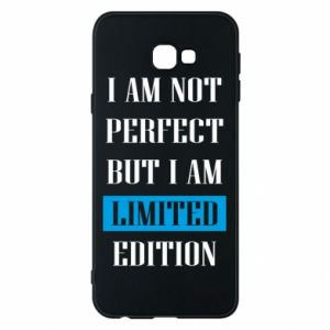Phone case for Samsung J4 Plus 2018 I'm not perfect but i am limited edition