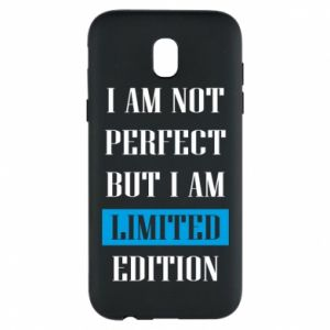 Phone case for Samsung J5 2017 I'm not perfect but i am limited edition