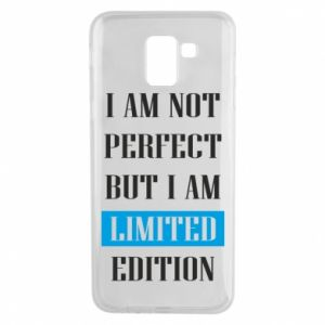 Etui na Samsung J6 I'm not perfect but i am limited edition