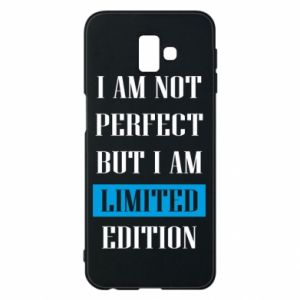 Etui na Samsung J6 Plus 2018 I'm not perfect but i am limited edition