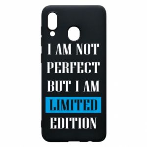 Etui na Samsung A20 I'm not perfect but i am limited edition