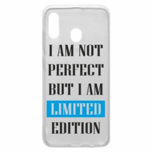 Etui na Samsung A30 I'm not perfect but i am limited edition