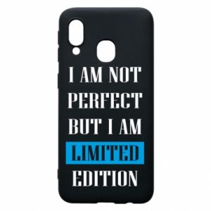 Etui na Samsung A40 I'm not perfect but i am limited edition