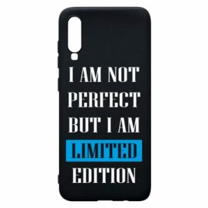 Etui na Samsung A70 I'm not perfect but i am limited edition