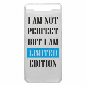 Etui na Samsung A80 I'm not perfect but i am limited edition
