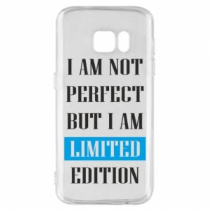 Etui na Samsung S7 I'm not perfect but i am limited edition