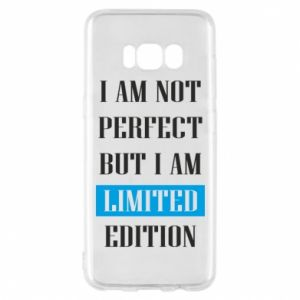Etui na Samsung S8 I'm not perfect but i am limited edition