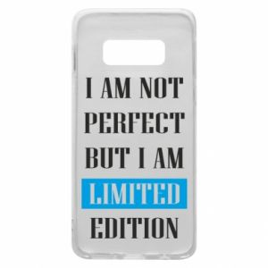 Etui na Samsung S10e I'm not perfect but i am limited edition