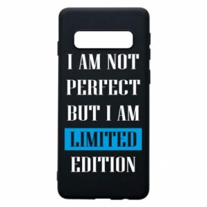 Etui na Samsung S10 I'm not perfect but i am limited edition