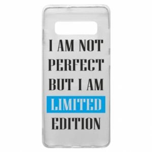 Etui na Samsung S10+ I'm not perfect but i am limited edition