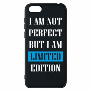 Etui na Huawei Y5 2018 I'm not perfect but i am limited edition