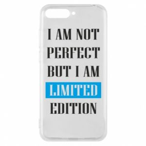 Etui na Huawei Y6 2018 I'm not perfect but i am limited edition