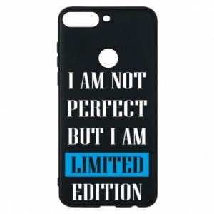 Phone case for Huawei Y7 Prime 2018 I'm not perfect but i am limited edition