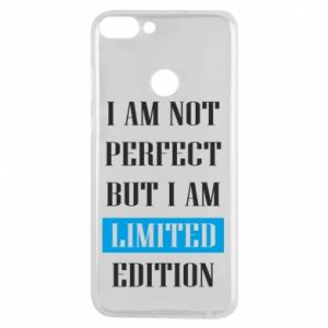 Etui na Huawei P Smart I'm not perfect but i am limited edition