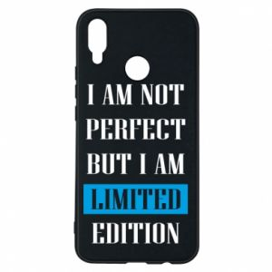 Etui na Huawei P Smart Plus I'm not perfect but i am limited edition